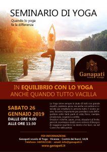 Seminario di Yoga Vicenza Ganapati